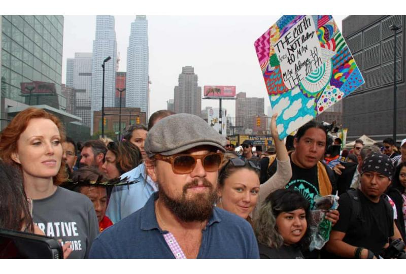 How Leonardo DiCaprio became one of the world's top climate change champions