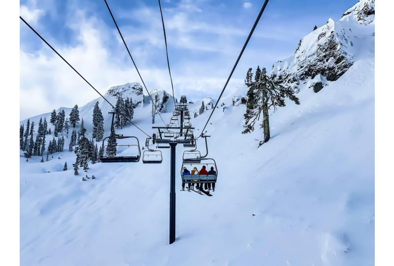 Can you ski and be green?