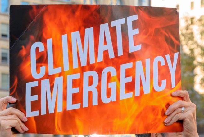 The fierce urgency of climate change