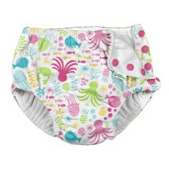 Snap Reusable Absorbent Swim Diaper