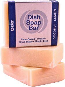 etee Plastic Free Dish Soap Bars | 3-pack
