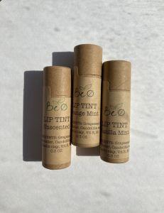 Organic Vegan Lip Tint   Vanilla Mint [Set of 3]