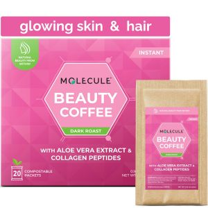BEAUTY INSTANT COFFEE WITH COLLAGEN PEPTIDES AND ALOE VERA