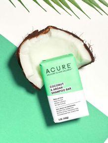 Acure Coconut & Argan Shampoo Bar - 100% Vegan