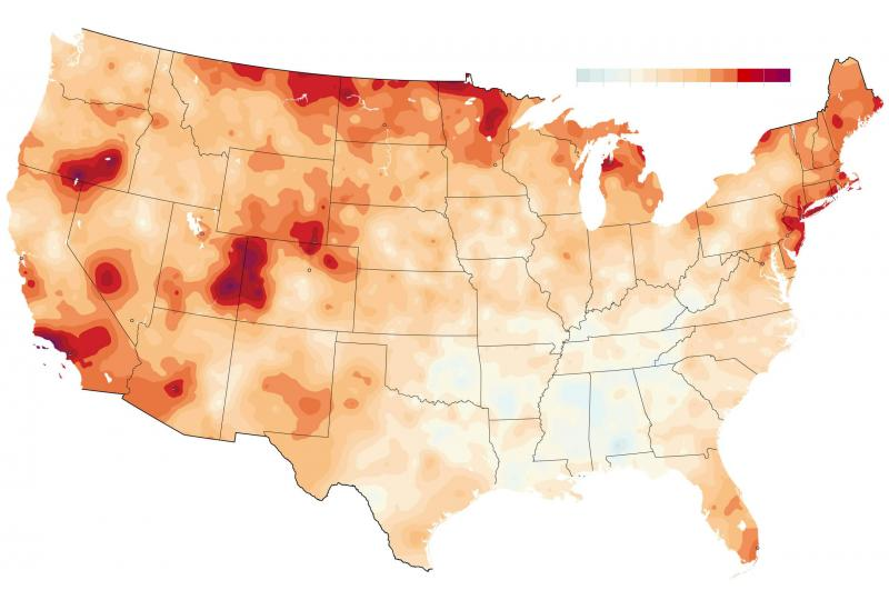 Extreme climate change has arrived in America