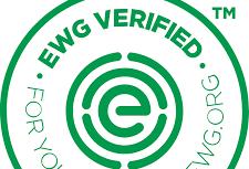 EWG Verified: Free from EWG's chemicals of concern